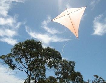 The original Dowel Diamond in flight.