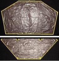 The Dowel Dopero - where to lay the edge taping