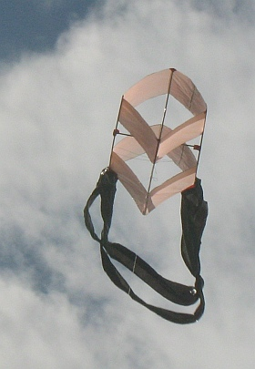 Unconventional approaches for building box kites.