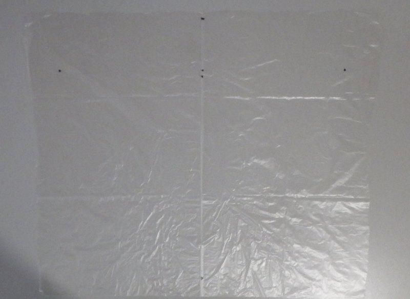Making the Indoor Diamond kite - Step 1c