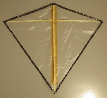 MBK Indoor Diamond Kite.