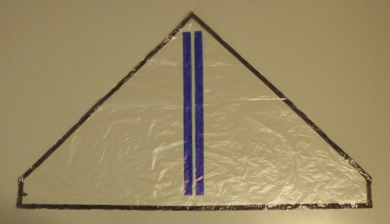 Making the Indoor Delta kite - Step 2b