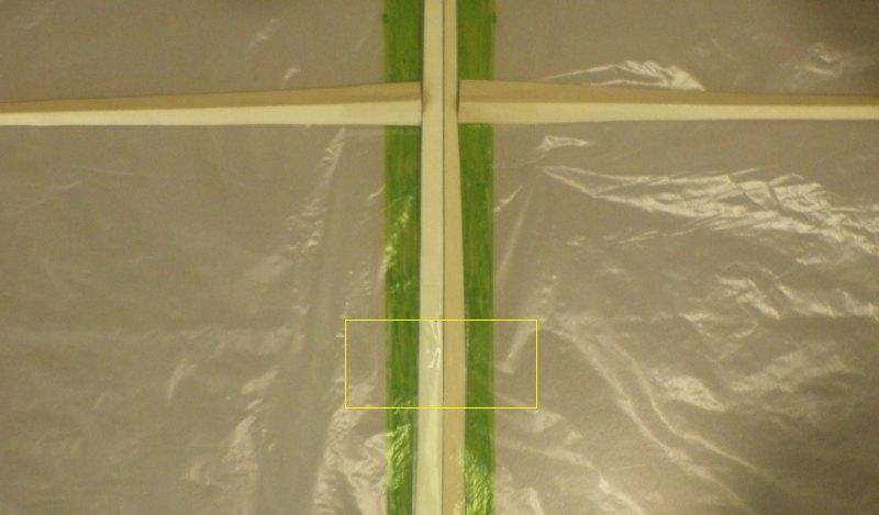 Making the Indoor Rokkaku kite - Step 4g
