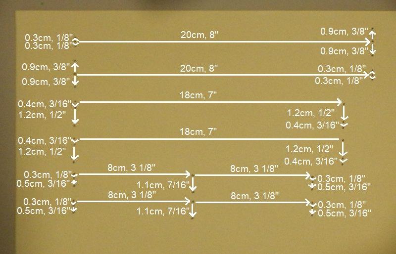 Making the Indoor Rokkaku kite - Step 3a