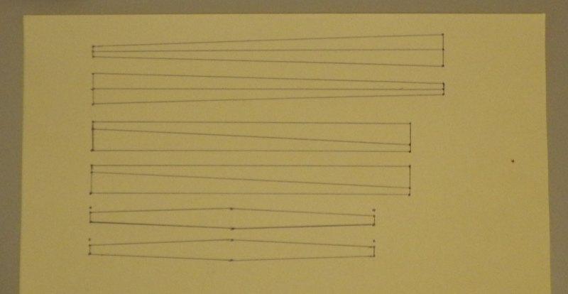 Making the Indoor Rokkaku kite - Step 3b