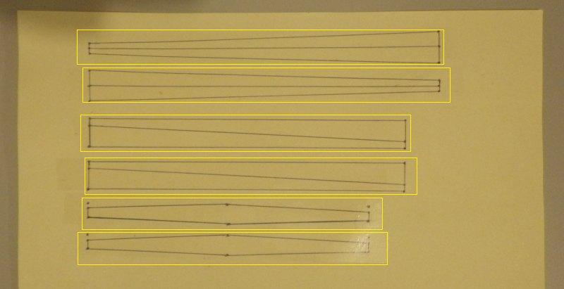 Making the Indoor Rokkaku kite - Step 3c