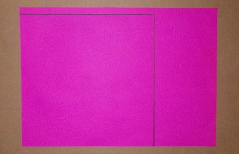 Making the Minimum Tetra kite - Step 1b