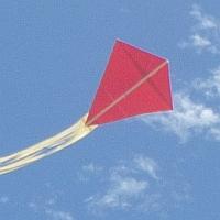 The MBK Paper Diamond kite.
