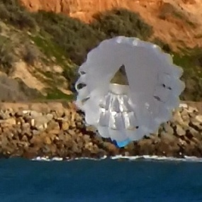 The MBK Parasail kite.