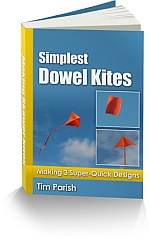 Kite-making e-book: Simplest Dowel Kites