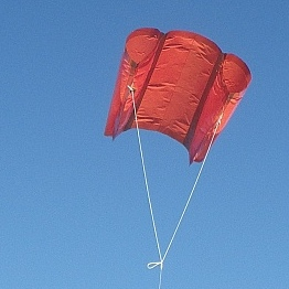 The MBK Soft Sled kite.