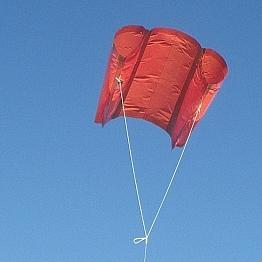 The MBK Soft Sled kite.