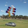 Murray Bridge Kite Festival 2016 - Ship kite.