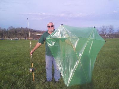 My New 6 Foot Barn Door Kite