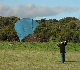 2-Dowel Sled Kite