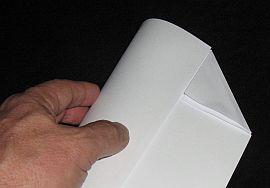 Making the Paper Sled kite - Step 3