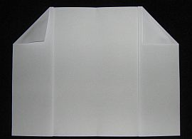 Making the Paper Sled kite - Step 3c