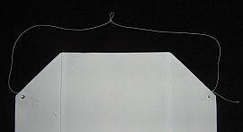 Making the Paper Sled kite - Step 4