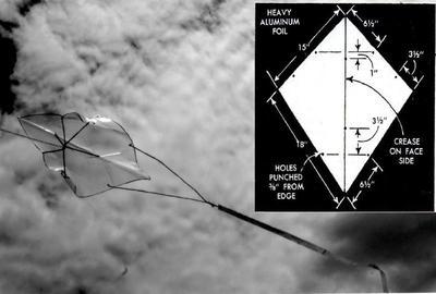 Rogallo Flexible Kite (Flexikite)