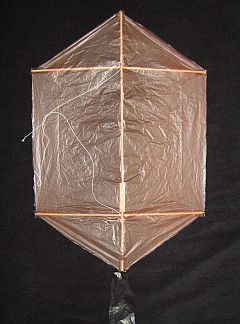 Rokkaku Kite Plans - 1 skewer front