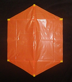 Rokkaku Kite Plans - 2 skewer front