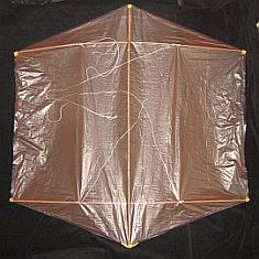 Rokkaku Kite Plans - dowel front
