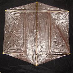 Rokkaku Kite Plans - dowel back