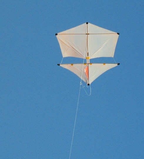 The 2-Skewer Roller in flight.