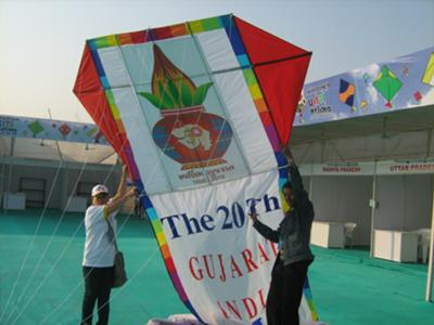 Paavan Solanki - International Kite Festival 2010, Ahmedabad, India