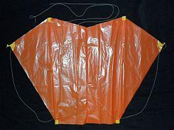 Sled Kite Plans - 2-skewer front
