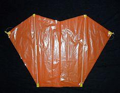 Sled Kite Plans - 2-skewer back
