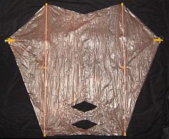 The Dowel Sled Kite - front view
