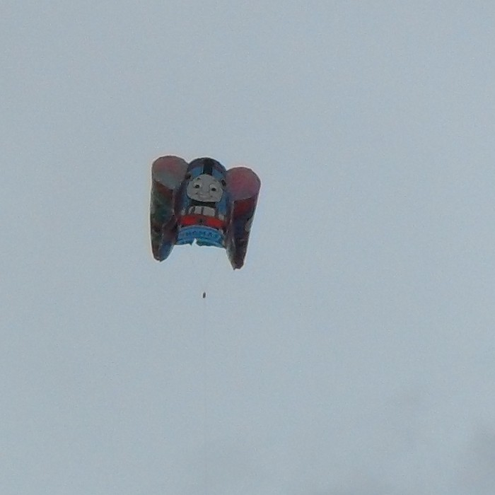 A Thomas the Tank Engine kite.