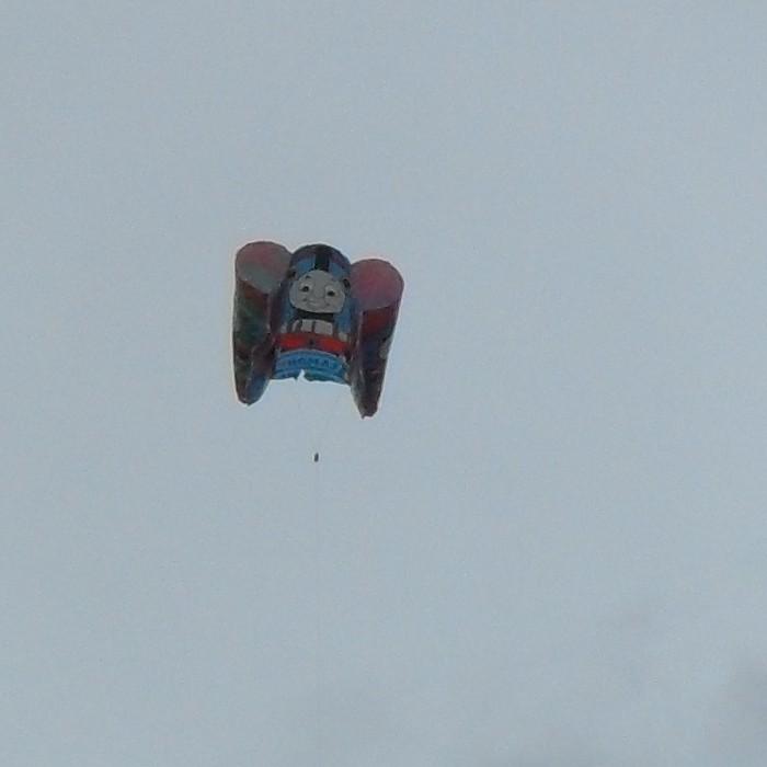 A Thomas the Tank Engine kite.