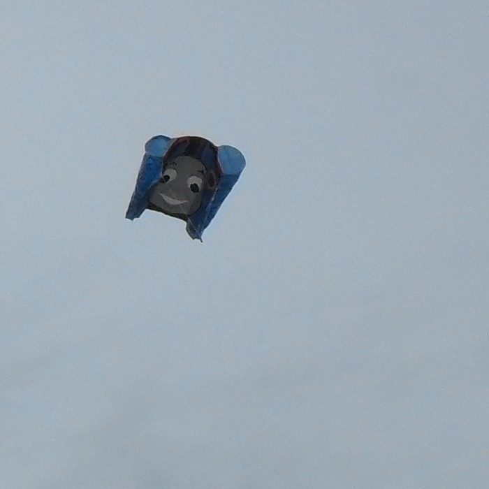 Another kite showing Thomas!
