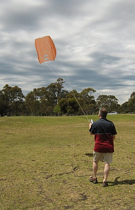 Sled kites are easy to make at home.