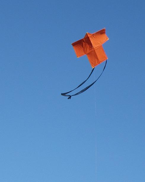 The 2-Skewer Sode in flight.