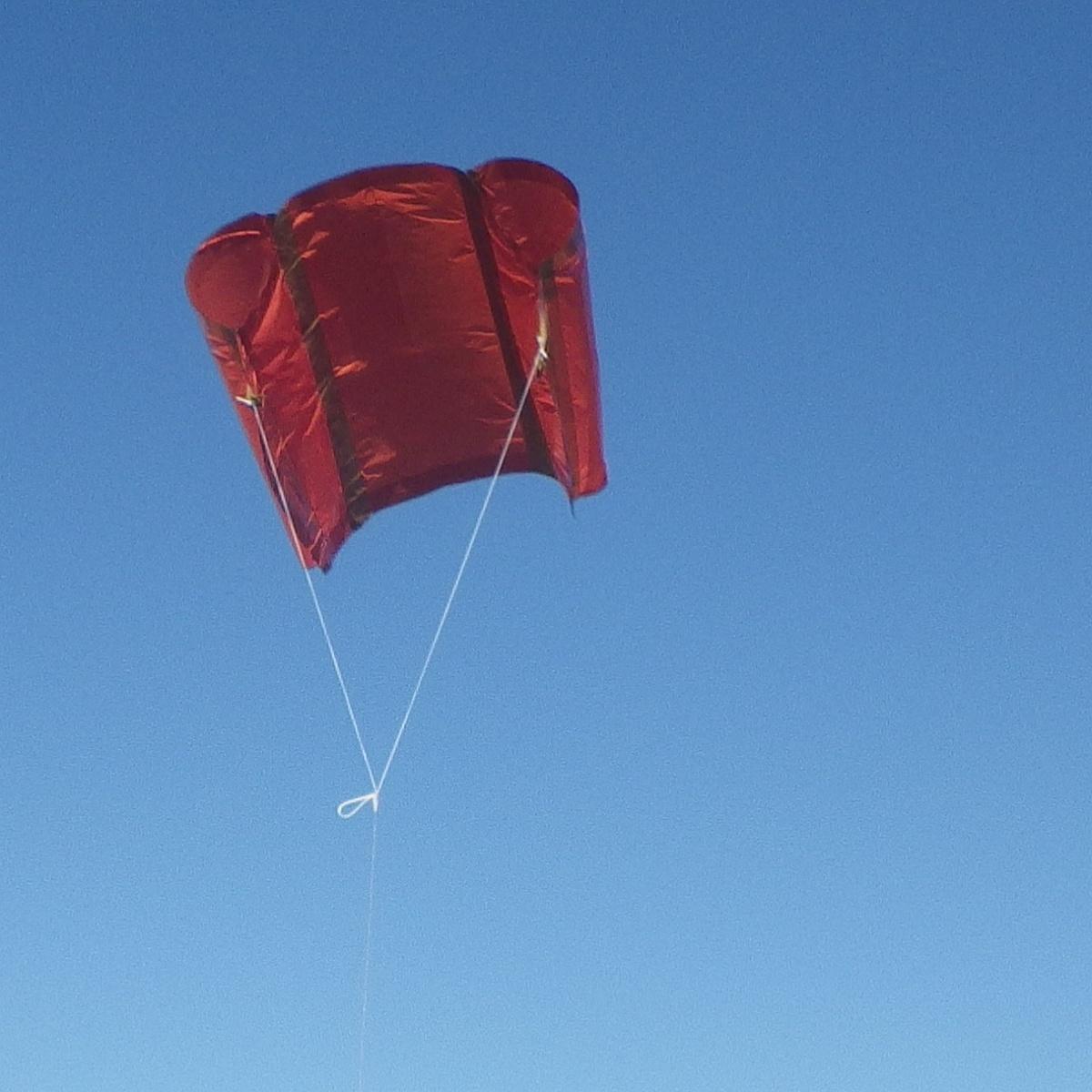 MBK Soft Sled kite 1 - 3.