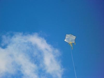 The Rok at 100 feet overhead.