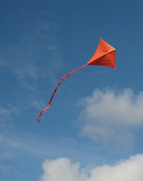 Basic kite making with the classic Diamond.