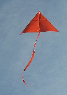 The MBK Simple Delta kite.