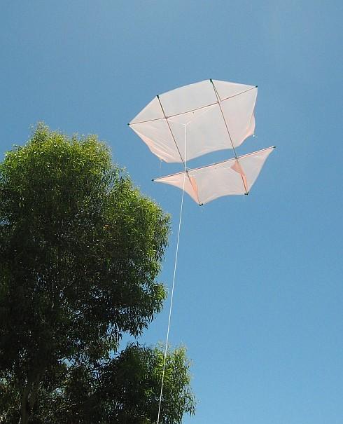 The MBK Dowel Dopero in flight.