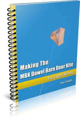 Click to buy the Dowel Barn Door kite e-book.