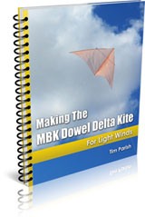 eBook - Making The MBK Delta Kite - For Light Winds