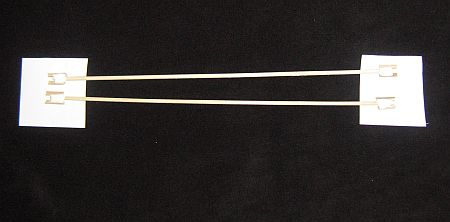 The 2-Skewer Box kite - cross-pieces