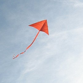 Learn how to build a Delta kite like this one!