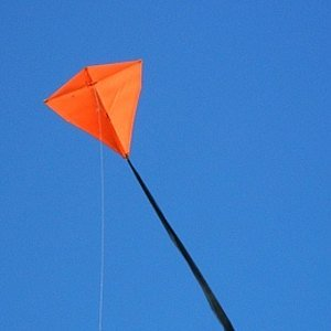 Learn how to build a Diamond kite like this one!
