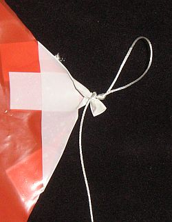 The Simple Sled kite - bridle 1