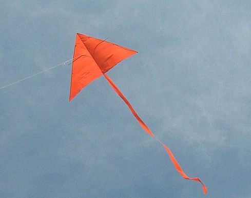 How to fly a kite like this simple home-made Delta