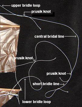 The 1-Skewer Dopero - bridle knots.